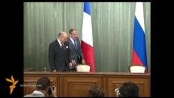 Սիրիայում քիմիական գրոհն իրականացնողների հարցում Ռուսաստանի ու Ֆրանսիայի արտգործնախարարները տարակարծիք են