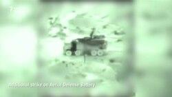 Відеокадри обстрілу Ізраїлем іранських цілей навколо столиці Сирії