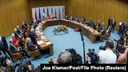 گفتگوها در بارۀ احیای توافقنامۀ هستهای ایران در ویانا پایتخت اتریش.