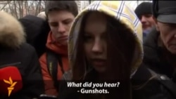 Moscow Students React After School Shooting