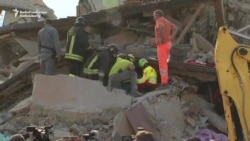 Italian Rescuers Search For Survivors After Deadly Quake