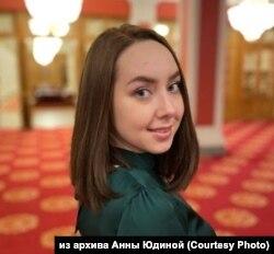 """Координатор """"Голоса"""" в Томске Анна Юдина"""