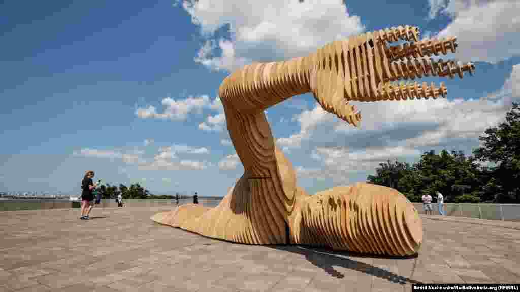 Подивитися на скульптуру можна буде до 12 липня