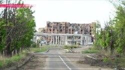Семья работников Донецкого аэропорта не хочет уезжать от развалин бывшей работы