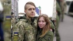 Історія кохання, яке народилося під час війни на Донбасі (відео)