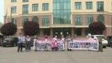 Бессрочная акция у китайского консульства продолжилась перед Банком Китая