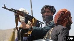 Талибы в Кабуле, 16 августа 2021 года