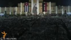 АҚШ билан муносабатлари илиқлашаëтган Куба революциянинг 62-йилини нишонламоқда