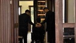 Վիրավորում ստացած զինվոր բուժվելուց հետո աշխատում են Զինվորի տան «Մեկ պատուհան» ծրագրում