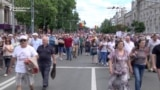 WATCH: Moldovans Protest Mayoral Vote Annulment