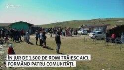 Coronavirus în România: Joia Mare la Pata-Rât, cea mai mare comunitate de romi din Cluj