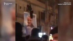 Focuri de armă și gaze lacrimogene la protestele din Teheran