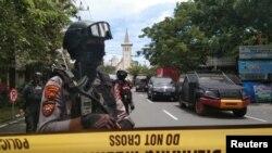 د اندونیزیا یو پولیس سرتیری