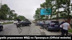 Массовое ДТП во Владивостоке
