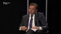 """Andrei Năstase: """"Eu nu vin singur, vin împreună cu Alexandru Slusari în calitate de candidat la funcția de premier"""""""