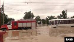 Потоп в Керчи, июнь 2021 года, иллюстрационное фото