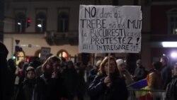 Mânie și umor. Peste 30.000 de oameni în stradă la Cluj a treia zi consecutiv