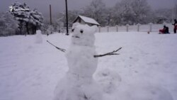 Зима на Ангарскому перевалі (відео)