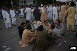اعتراض شماری از کارگران در برابر پالیسیهای حکومت پاکستان و صندوق جهانی پول