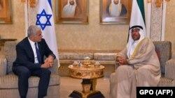 Израелскиот министер за надворешни работи Јаир Лапид во посета на Абу Даби