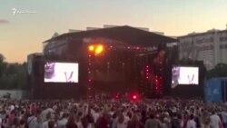 Андрей Хлывнюк со сцены фестиваля Atlas Weekend: «Free Oleg Sentsov!» (видео)