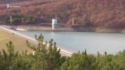 Там, где еще есть вода: Изобильненское водохранилище в Алуште (видео)