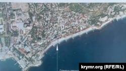 Проєкт концепції облаштування Масандрівського пляжу в Ялті