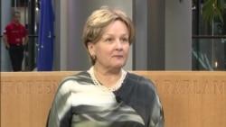 """Laima Andrikienė: """"Moldovenii trebuie să înţeleagă gravitatea situației în care se află țara"""""""