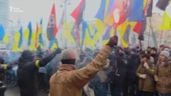 У Києві проходить акція «Стоп реванш» (відео)