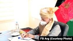 محمد اشرف غني پکتیکا کې د غونډې پر مهال