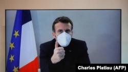 Președintele Franței, Emmanuel Macron.