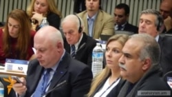 Րաֆֆի Հովհաննիսյանը ԵԺԿ նախագահի հետ Եվրոպա-Եվրասիա երկընտրանքն է քննարկել