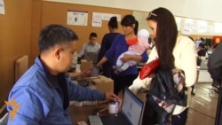 Kyrgyz Voters Cast Ballots Using Biometric ID Cards