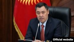 Қирғизистон президенти Садир Жапаров
