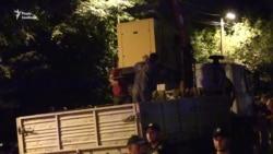 У Києві протестувальники зупинили забудову «Скверу волонтерів АТО» (відео)