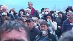 Prijepolje: Protest na deponiji