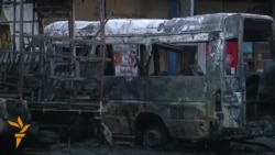 Shell Hits Bus Station In Donetsk, Killing Two