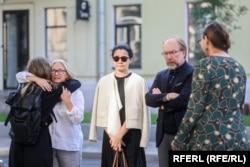 Зьлева направа – Алена Прытула, цывільная жонка Паўла Шарамета, Сяўгіль Мусаева і Генадзь Чыжыкаў