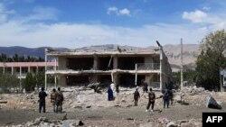 Місто Айбак (на архівному фото) не вперше стає ціллю нападу талібів