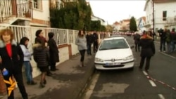 Relatives Arrive At Scene Of French School Shooting