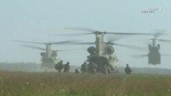تمرین نظامی ارتش آمریکا با متحدان اروپایی