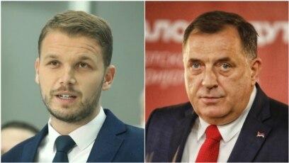 Draško Stanivuković i Milorad Dodik