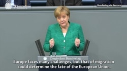 Merkel: Migration Could Determine EU's Fate