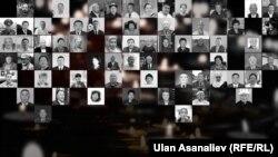 Фотографии кыргызстанцев, ставших жертвами коронавируса.