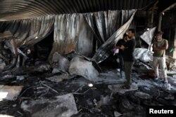 Majoritatea persoanelor din secția Covid au murit în urma incendiului.