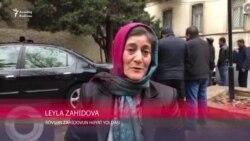 L.Zahidova: Dedilər bütün Zahidovları tuturlar, mən də qoruxmdan...