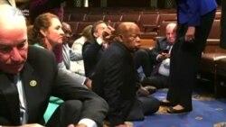 ABŞ-da demokratlar oturaq aksiya keçirib
