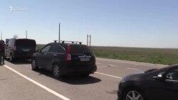 Утром 1 мая очередей на въезд в Крым нет – Госпогранслужба Украины (видео)
