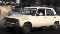 Soviet Cars Clog Baku Streets And Air