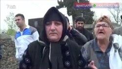 Astara qəbiristanlığında başdaşılar sındırılıb
